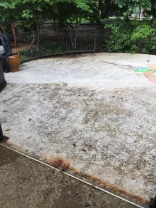 Power Wash Pool Deck Cover Photo