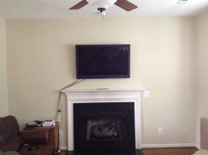 Built In Bookcase With Bottom Cabs And In Wall Av Install Cover Photo