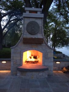 Patio Fireplace  Cover Photo