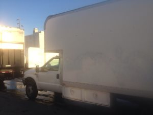 Box Truck Spray Painted  Cover Photo