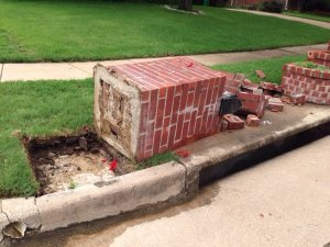 Brick Mailbox Repair Cover Photo