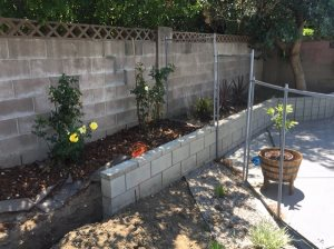 Block Wall + Gravel Cover Photo