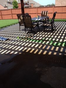 Stamped Concrete Patio Cover Photo