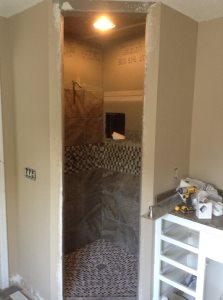 Finish Tile Shower Cover Photo