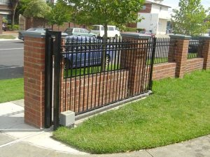 Iron Fence And Rolling Gate Installed Cover Photo