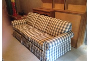 Re-Upholster Couch Cover Photo