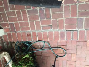 Patio Brick And Mortar Work Cover Photo