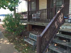 Replace Railing And Steps On Front Porch Cover Photo