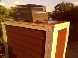Chimney Replacement Rotted Wood And Shingles  Cover Photo