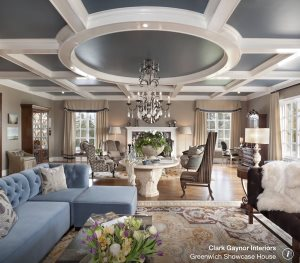 Install Coffered Ceiling Cover Photo