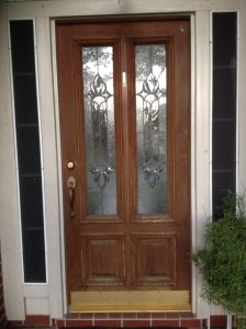 Front Door Refinish Cover Photo