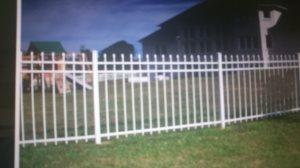 Aluminum Fence Cover Photo