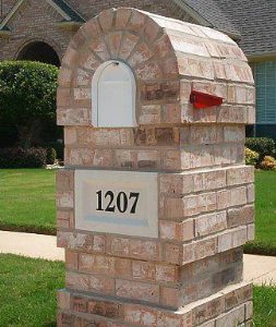 Brick Mailbox  Cover Photo