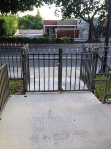 Replace Existing 87 Gate With New Wrought Iron Gate  Cover Photo