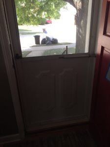 Screen Door Cover Photo