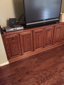 ) Remove The Existing Built-In Cabinet Unit At Living Area Cover Photo