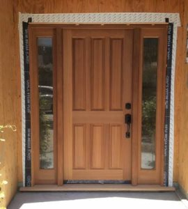 Professional Staining Of Front Entry Door  Cover Photo