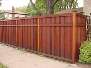 Wood Privacy Fence Panels
