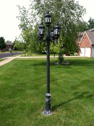 Outdoor Lamp Service Cover Photo