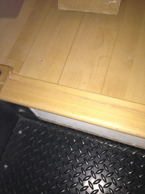 Crack In Wood Floor Cover Photo