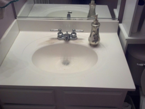 Replace Bathroom Countertops Cover Photo