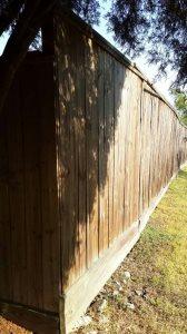 Wood Fence Panel
