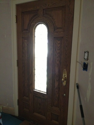 Replace Exterior Door Cover Photo
