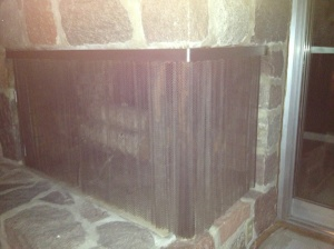 Enclose Fireplace Cover Photo