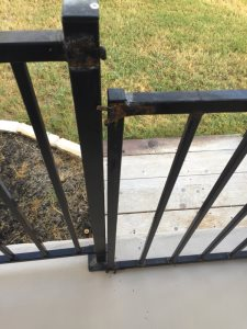 Metal Gate Cover Photo