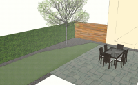 Small Patio And Lawn Cover Photo