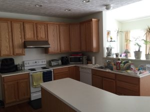 Kitchen Cabinet Repaint  Cover Photo