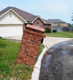 Brick Mail Box Repair  Cover Photo