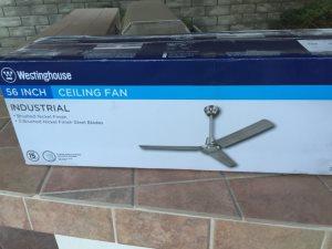 Ceiling fan Wires