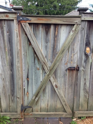 Wooden Gate Door Repair Cover Photo