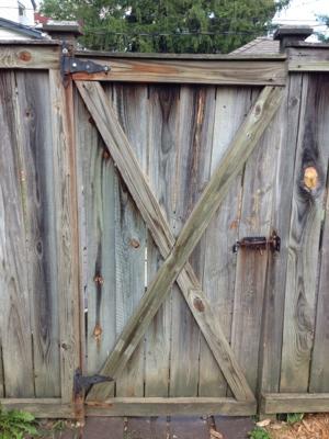 Wooden Gate Door Repair Cover Photo