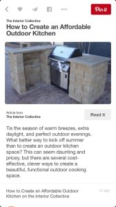 Outdoor Kitchen  Cover Photo
