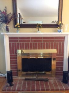 Reface Fireplace With Tile/Stone Cover Photo