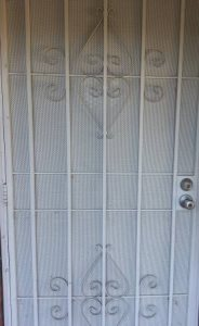 Remove Entrance Security Door Cover Photo
