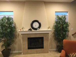 Fireplace Remodel & Backsplash Tile Cover Photo