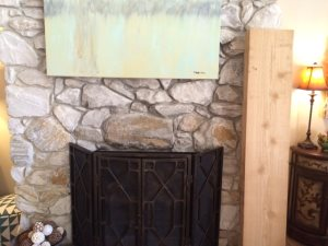 Fireplace Mantle Cover Photo