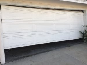 Garage Door Panel. Cover Photo