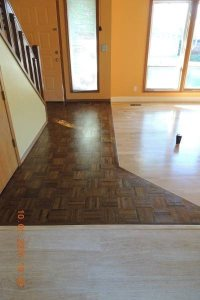 Install Hardwood Floor In Entrance Cover Photo