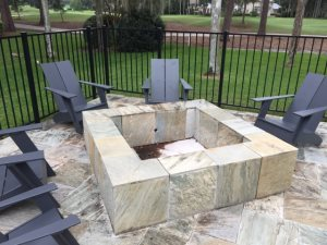 Fire Pit Tile Work Cover Photo