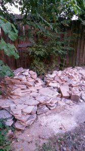 Flagstone Patio Removal - Keep The Stone!! Cover Photo