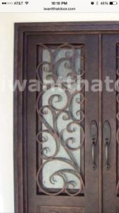 Wrought Iron Insert Cover Photo