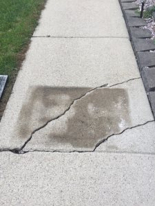 Cracked Concrete Cover Photo