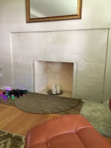 Fireplace Gas Line Cover Photo
