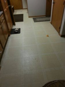 Install Vinyl Flooring Cover Photo
