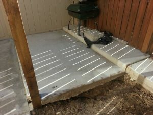Small Concrete Pad Cover Photo