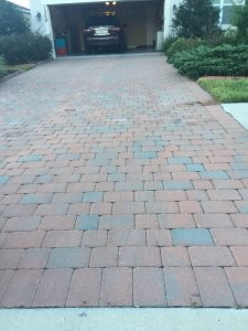 Pressure Wash Brick Pavers Cover Photo